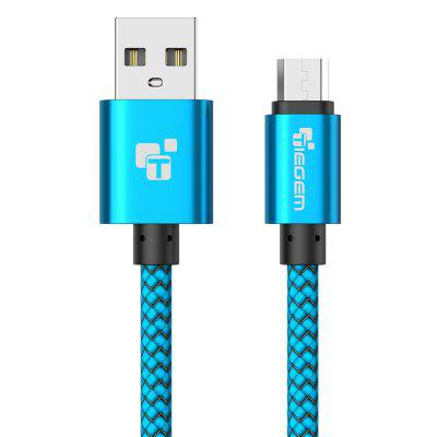 TIEGEM Micro USB Cable 2A Fast Charger USB Data Cable for Samsung Xiaomi Huawei