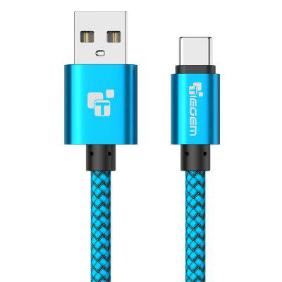 TIEGEM USB Type C Cable Fast Charging USB C Data Cable for Samsung Huawei Xiaomi