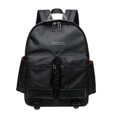Men Fashion Trend Casual Personality Backpack