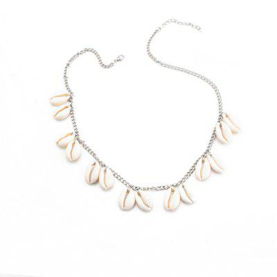 New Fashion Hipster Natural Shell Short Clavicle Chain Necklace