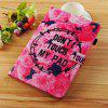 Flower Sea Painted Tablet Leather Case for iPad 9.7 inch(2018)/9.7 inch(2017) - MULTI