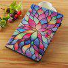 Lotus Painted Tablet Leather Case for iPad 9.7 inch(2018)/(2017)/Air2/Air - MULTI