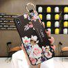 Soft TPU Cover Finger Ring Holder Wrist Strap Phone Case for iPhone X / XS - MULTI-C