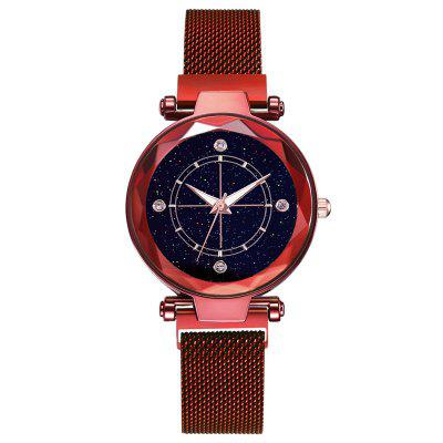 Panie Casual Fashion Magnet Watch Watch Strap