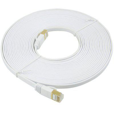 Kabel Ethernet Kabel sieciowy CAT7 Płaski kabel Patch Cord 10M