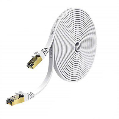 Cabo Ethernet CAT7 Cabo De Rede Plano Cabo Patch 15M