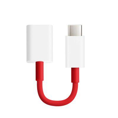 Type C naar USB OTG-kabel Data Charger-adapter voor Oneplus 6 / 5T / Xiaomi Mi 8