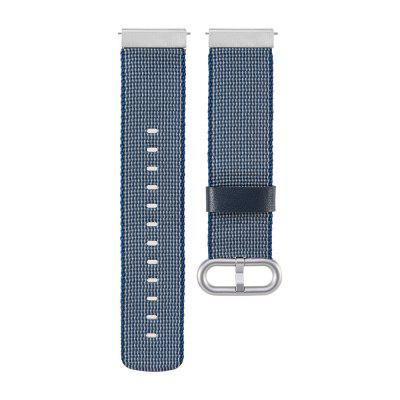 Nylon Woven Watch Band Strap Wristband Bracelet for Pebble Time Steel