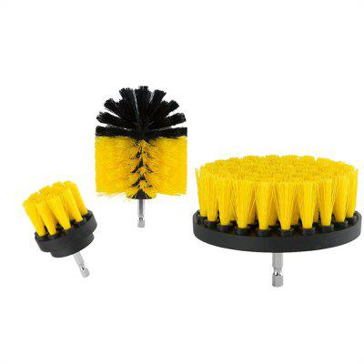 Household Cleaning Electric Drill Brush Head 3PCS