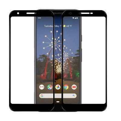 Mrnorthjoe Full Screen Coverage Tempered Glass Film for Google Pixel 3a - 2PCS