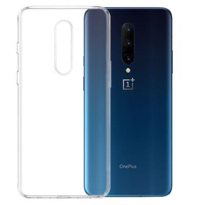 Mrnorthjoe TPU Phone Cover Transparent Case for OnePlus 7 Pro