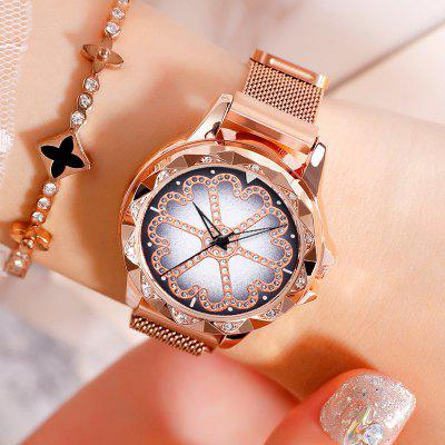 New Ladies Simple Fashion Trend Waterproof Quartz Watch