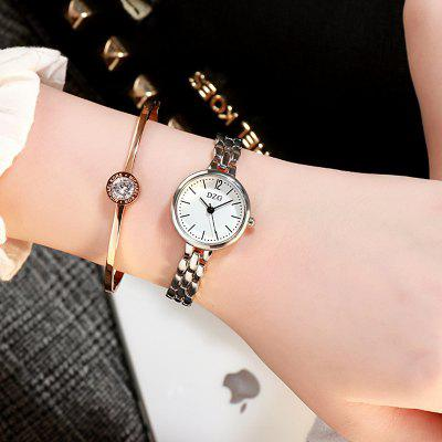 Ladies Fashion New Wave Personality Simple Quartz Watch