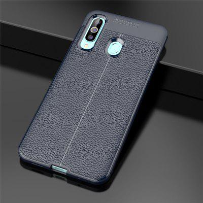 Ultrathin  Business TPU Leather  Soft Phone Case for Samsung Galaxy A60