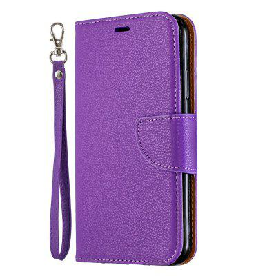 Premium PU Leather Flip Wallet Phone Case for iPhone XR