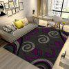Sitting Room Bedroom Carpet Nord Europe Sofa Tea Table Cushion Bed Rectangle - EGGPLANT