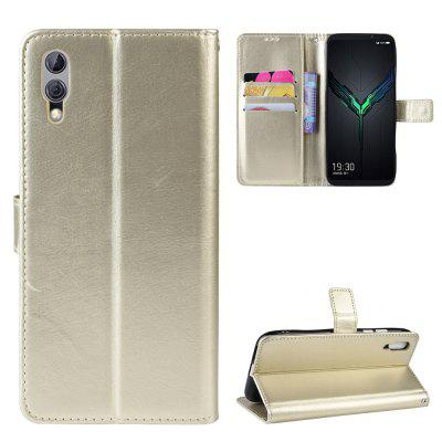 Crazy Horse PU Leather Phone Case For Xiaomi Black Shark 2
