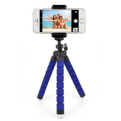 Bluetooth Remote Control Phone Sponge Tripod Stand Holder Mount