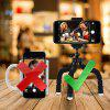 Bluetooth Remote Control Phone Sponge Tripod Stand Holder Mount - BLACK