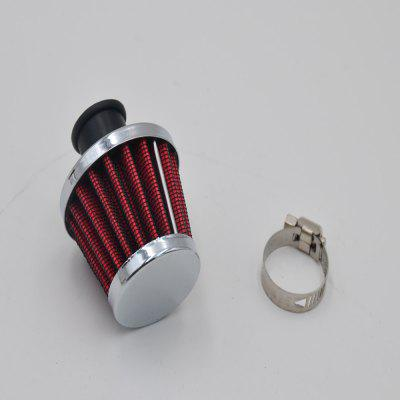 12mm Red Car Motor Cold Air Intake Filter