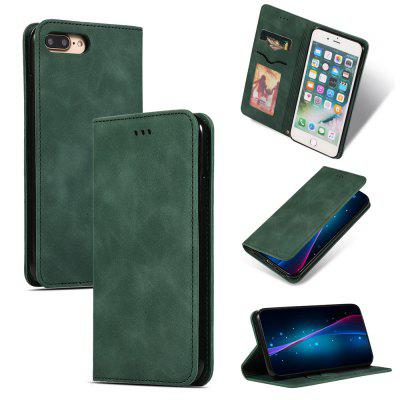 Luxury Card Protection Leather Phone Case for iPhone 8 Plus/7 Plus