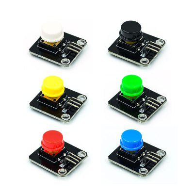 Light Touch Switch Big Button Micro Switch Button 6 Pieces