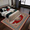 European Rectangular Carpet Top - grade Printed Non - slip Carpet Mat - MULTI-B