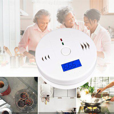 Carbon Monoxide Gas Detection Detector Alarm LCD Portable