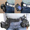 DSLR Camera Waist Belt Buckle Quick Installation Release For Nikon / Canon - BLACK