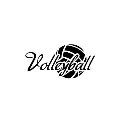 Volleyball Wall Decoration Wall Sticker Removable Home Decoration