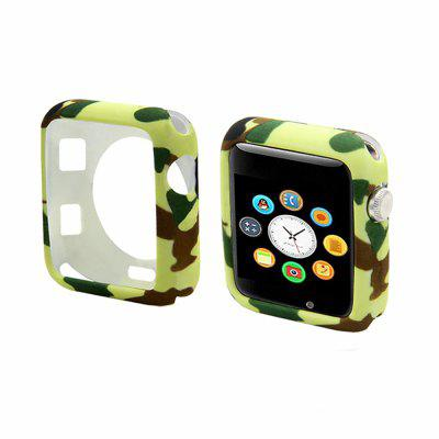 Cover Camouflage voor Apple Watch Cover 42 / 38MM siliconen beschermhoes