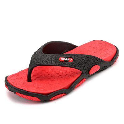 SALIT High Quality Men'S Shoes For Male Slippers Flip Flops Outdoor Soft Casual