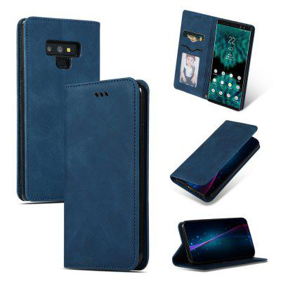 Luxury Card Protection Leather Phone Case for Samsung Galaxy Note 9