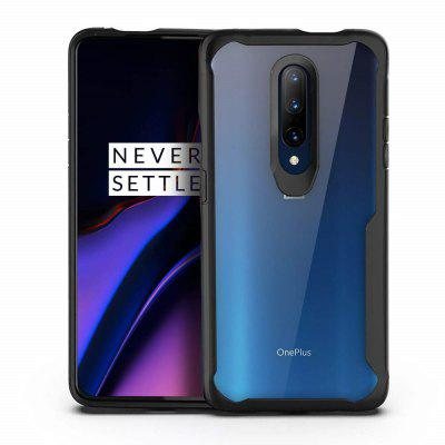 TPU Transparent PC Anti-knock Phone Cover Case for OnePlus 7 Pro