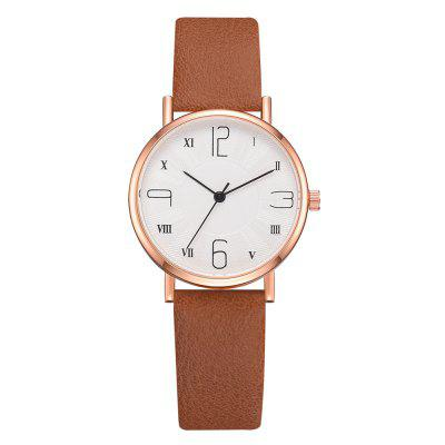 XR3453 Mulheres Casual Temperamento Simples Digital Scale Dial Watch