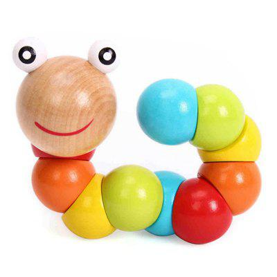Simulatoare de lemn Caterpillar Toy Educational Toy