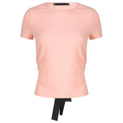 Stylish and Simple Tie T-Shirt