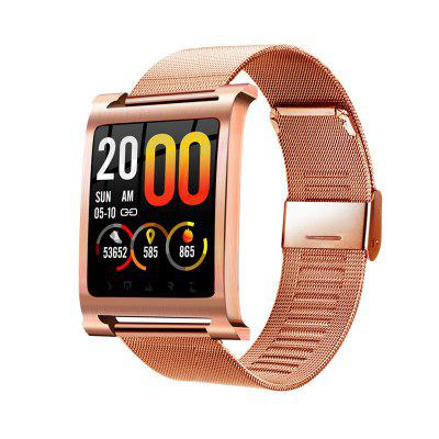 K6 Smartwatch Bracelet Watch Heart Rate Oxygen Blood Pressure Monitor Pedometer Image