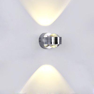 Lazada 6W LED Crystal Ball Wall Lamp for Aisle Bedroom Bedside AC220V
