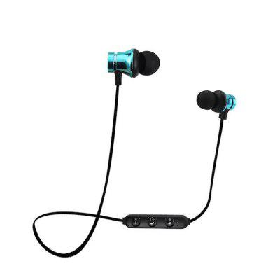 Wireless Sports Bluetooth Headset Stereo Subwoofer Earphones Anti-Sweat with Mic