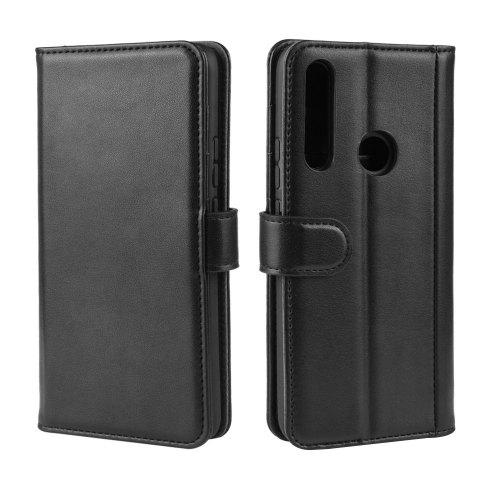 Genuine Leather Flip Phone Case for Huawei P Smart Z / Nova 5i