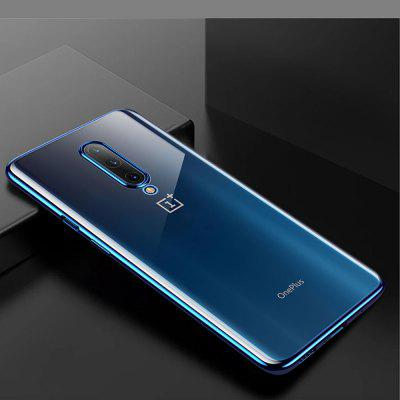 Plating Cover per cellulare Soft Clear Slim per OnePlus 7 Pro