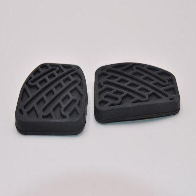 Brake Clutch Pedal Pad Rubber Cover for Nissan Qashqai Manual 2007-2016 2PCS