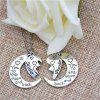 Fashion Jewelry Necklace Good Friend's Clavicle Chain - SILVER