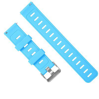 Silicone Watch Band Wrist Strap for Xiaomi AMAZFIT Pace Stratos 2 / 2S