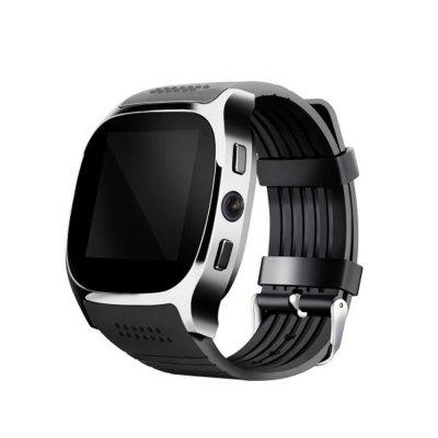 Bluetooth Smart Watch Music Player Sync SMS TF Card SIM Support Camera