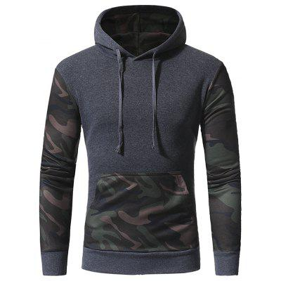 Paired with Men Casual Hooded Pullover Sweater