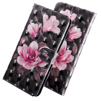 3D Color Painting Flip Wallet Leather Phone Cover for LG K40 Case