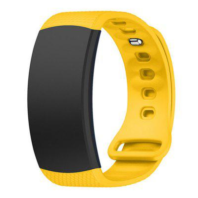 Sport Silicone Replacement Watch Band Wrist Strap For Samsung Gear Fit 2 / Pro