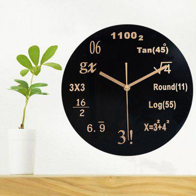 30cm Creativity Silent Wall Clock Quiet Sweep Home Art Decor